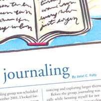 Essay: Spiritual Journaling